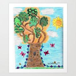 Summer Full of Bloom  Art Print