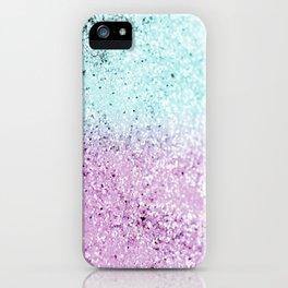Mermaid Lady Glitter #2 #decor #art #society6 iPhone Case