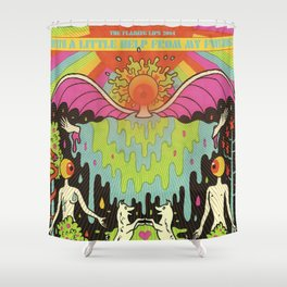 The Flaming Lips - With a Little Help From My Fwends Shower Curtain