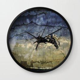 A Race To Heaven Wall Clock