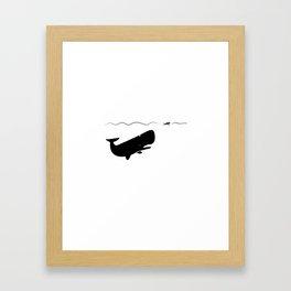 Jonah & the Whale Framed Art Print