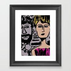 Crown of Love Framed Art Print