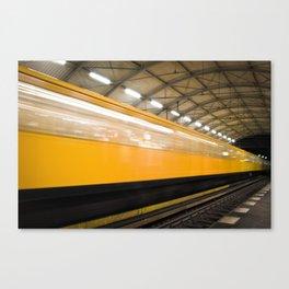Berlin Subway Canvas Print