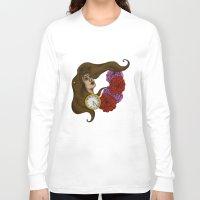 gypsy Long Sleeve T-shirts featuring Gypsy by Rene Robinson