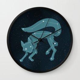 Star Fox (Vulpes astra) Wall Clock