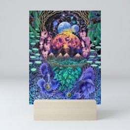 Moon world Mini Art Print