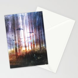 Absinthe forest Stationery Cards