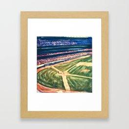 PLAY BALL Framed Art Print
