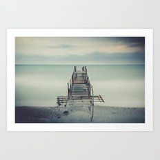 Tranquil Blues Art Print