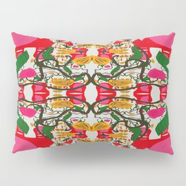 Assorted Floral Layout Over Under Pillow Sham