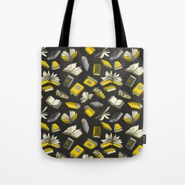 Spellbooks, Yellow Tote Bag