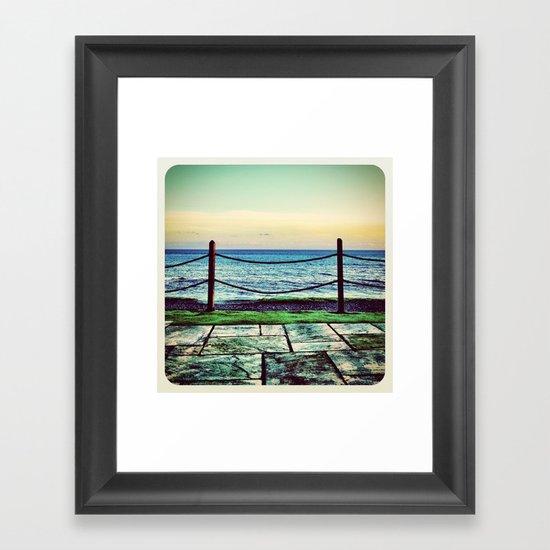 Donabate Strand - Instagram Framed Art Print