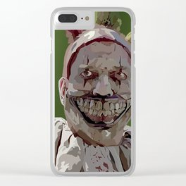 Twisty the Clown Clear iPhone Case