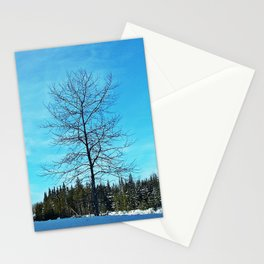 Alone and Leafless Stationery Cards