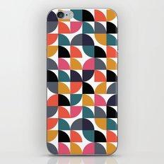 Quarter pattern iPhone & iPod Skin