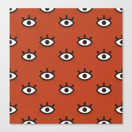 Curious Little Things (Patterns Please) Canvas Print