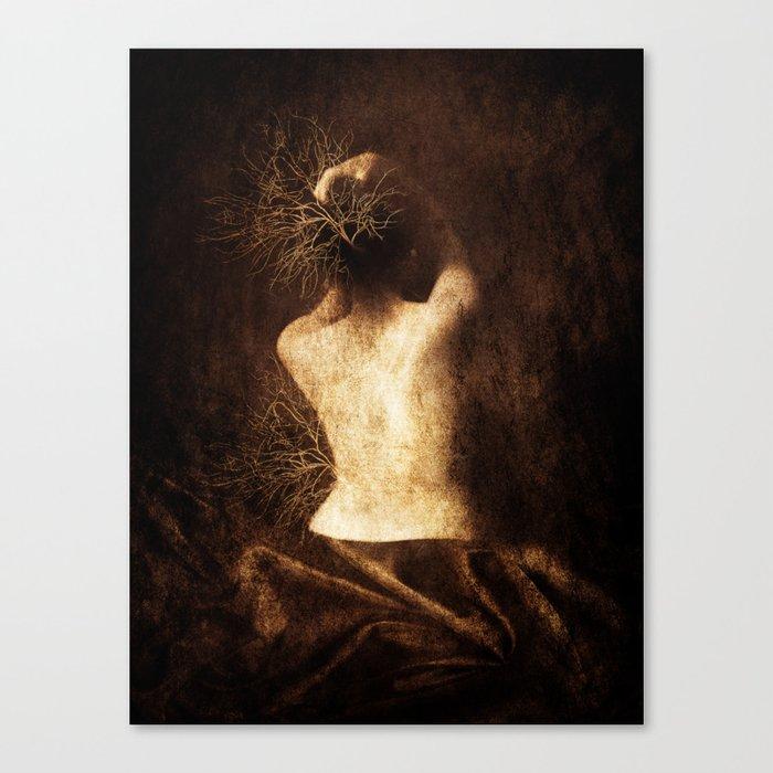 Juliette. Portrait. Canvas Print
