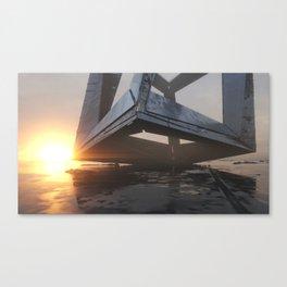 SquareCTV Canvas Print