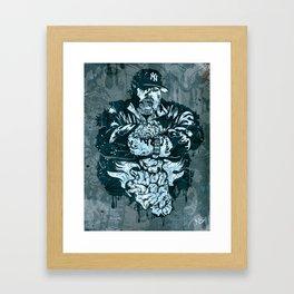 Big Punisher Framed Art Print