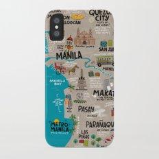 Metro Manila, Philippines Slim Case iPhone X
