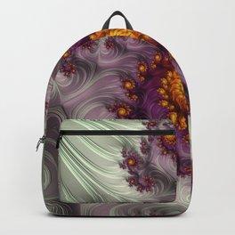 Saffron Frosting - Fractal Art Backpack