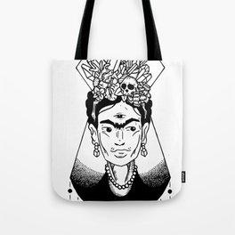 Mystic Frida Tote Bag