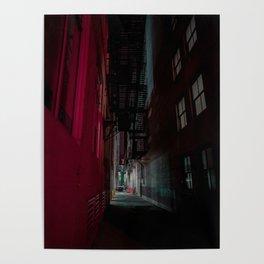 Milwaukee Neon Alley Poster