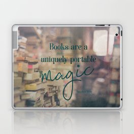 Books are magic - Book Quote Collection Laptop & iPad Skin