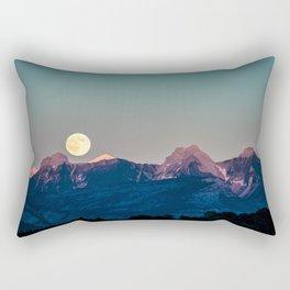 The Rising Moon Rectangular Pillow