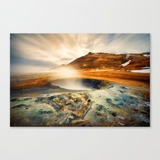 Hverarond - Iceland  (RR137) Canvas Print