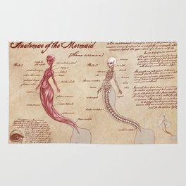 Anatomy of the Mermaid Rug