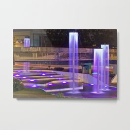Fountains of light Metal Print