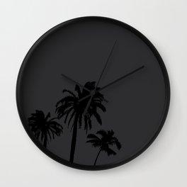 LOS PALMAS (MUTE) Wall Clock