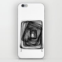 no face iPhone & iPod Skins featuring Face by KRNago