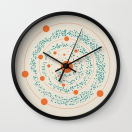 The Polarity of Space Wall Clock
