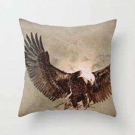 Eagle Spirit Throw Pillow