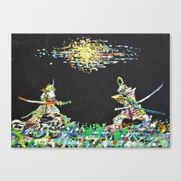 THE TWO SAMURAIS Canvas Print