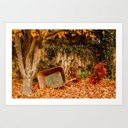 Autumn in Alabama Art Print
