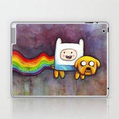 Nyan Time with Jake and Finn Laptop & iPad Skin
