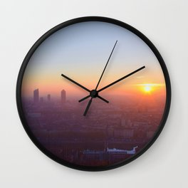 As the day is beginning Wall Clock