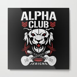 Alpha Club Metal Print