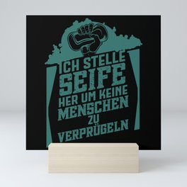 Soap Gift Soap maker Mini Art Print