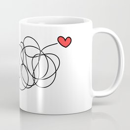 Hearts found each other (no text) Coffee Mug