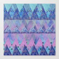 Layered Triangles 2 Canvas Print