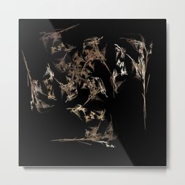 Autumn Blows Metal Print