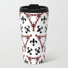 Crawfish Kaleidoscope Travel Mug