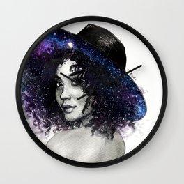 Andromeda Reverie Wall Clock