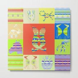 Indian patchworks74 Metal Print