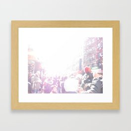 Chinese Lunar New Year in New York City: 2010 Framed Art Print