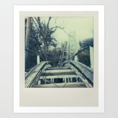 Abandoned Amusement Park 03 Art Print